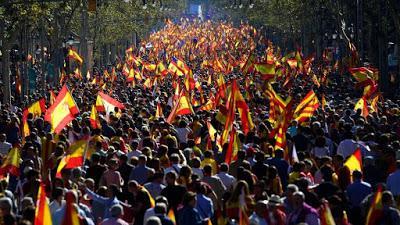 Cs, PSC y PP, juntos y en contra de los independistas.