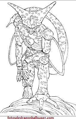 Descarga 4 Dibujos Para Pintar Dragon Ball Z Gratis A Lapiz Paperblog