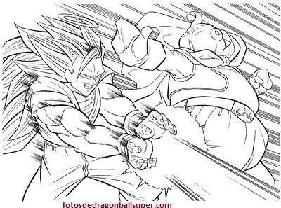 Descarga 4 Dibujos Para Pintar Dragon Ball Z Gratis A Lapiz