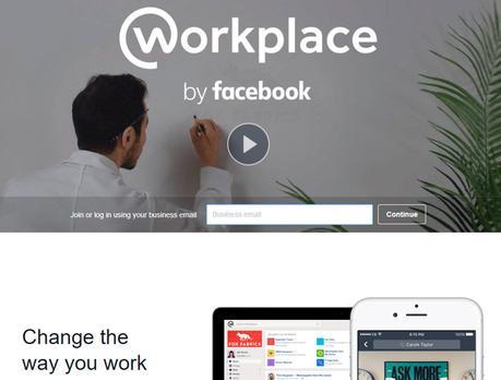 facebook y workplace