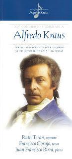 Pola de Siero también con Alfredo Kraus