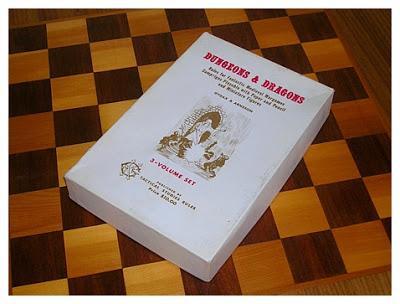 La caja blanca de D&D :OD&D White Box (1974)
