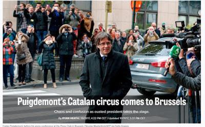 TOCATA Y FUGA DE CARLITOS... DE LAS ALCANTARILLAS A BRUSELAS Y UN JUEGO DE PAREJAS, por @AntoniodlTL