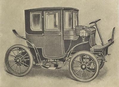 Ausonia, auto eléctrico de 1906