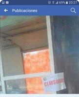 Clausuraron un carro de venta de comidas en Piedra del Aguila