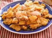 Patatas ajillo pastor, receta Jaén