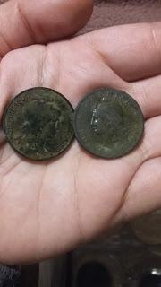 Últimas monedas encontradas