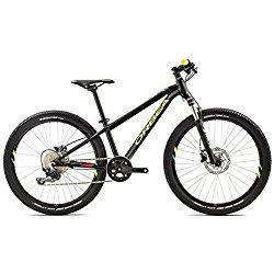 Orbea MX 24pulgadas Trail triángulos Negro Multicolor infantil juvenil para bicicletas de montaña 10velocidades, g01424kb