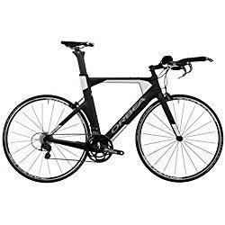 Orbea Ordu M35Special Edition-Bicicleta de triatlón y montaña, tamaño del cuadro L (55,9cm), 2017, color blanco y negro