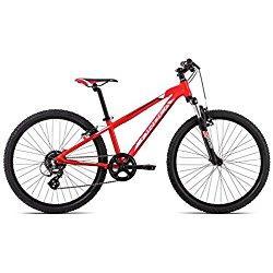 Orbea MX 24XC 15rojo blanco 8marchas, 24pulgadas infantil juvenil para bicicletas de montaña, d00620N7