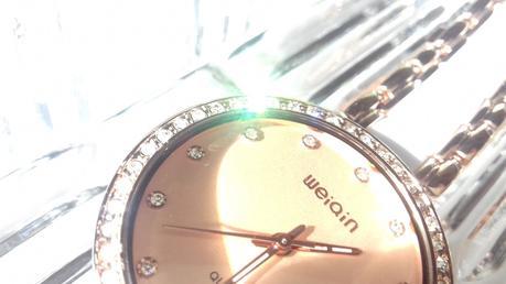 Reloj en oro rosado de Rosegal