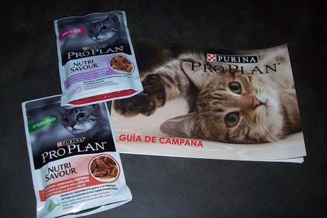 Probando Purina pro Plan Nutrisavour gracias a Youzz