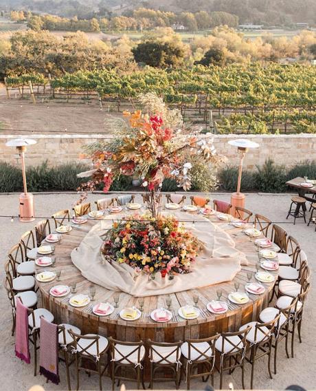 Wedding Mistakes: originales montajes de mesas de banquetes realmente incómodos