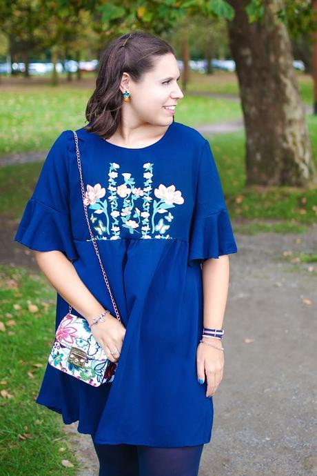 Mi vestido azul