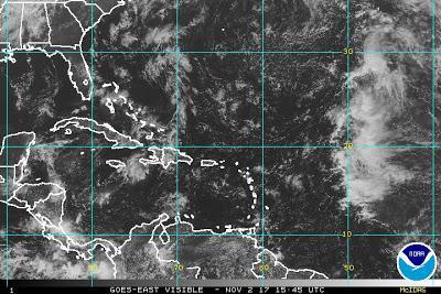 Condiciones de lluvias en Sur dominicano