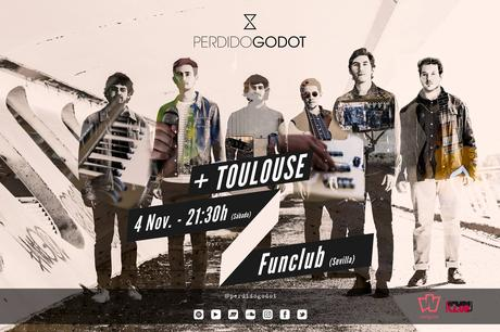 Toulouse y Perdido Godot llegan el sábado a FunClub