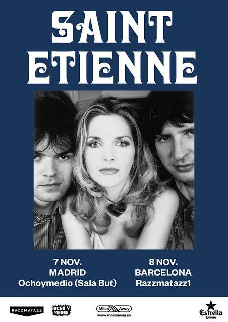 [Noticia] Saint Etienne actuarán en Barcelona y Madrid