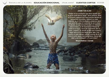 Educación Emocional en la escuela y en el hogar. Colección Cuentos Cortos 35