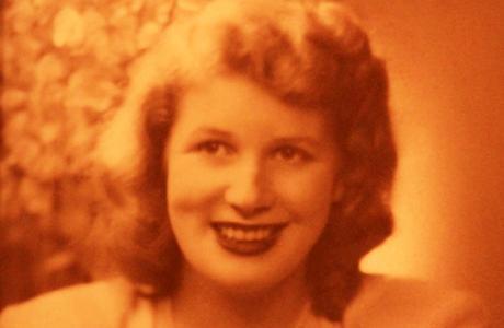 retrato de Jean Steel, víctima mk ultra de la cia