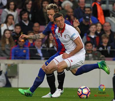 Precedentes ligueros del Sevilla FC ante el FC Barcelona
