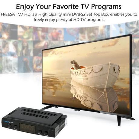 FREE SAT V7 HD, no te pierdas ni un canal del mundo