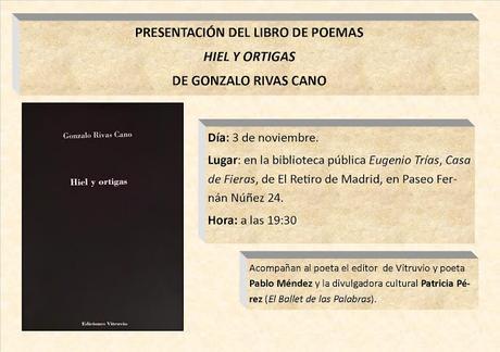 HIEL Y ORTIGAS DE GONZALO RIVAS