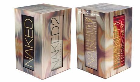 Urban decay y sus cofres de maquillaje: NAKED 4SOME y Vault IV