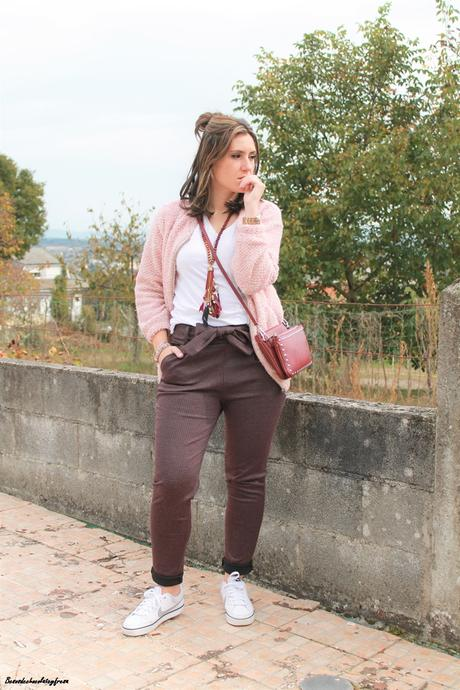 Burdeos + rosa
