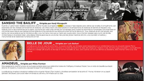 Por primera vez en Bogotá los clásicos y los protagonistas del cine mundial: ¡viven!