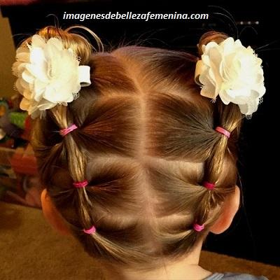 peinados bonitos para niña de 6 años colitas