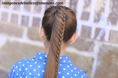peinados bonitos para niña de 6 años trenza