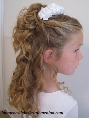 peinados bonitos para niña de 6 años cola
