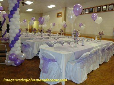 Decoracion de salon para fiestas de 15 a os con globos for Decoracion de salones para eventos