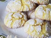 Galletas craqueladas limón