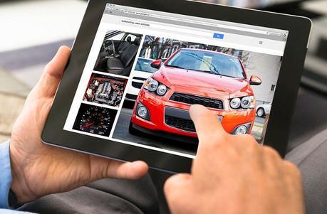 Predio virtual de venta de carros
