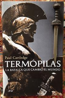 Portada del libro Termópilas, de Paul Cartledge