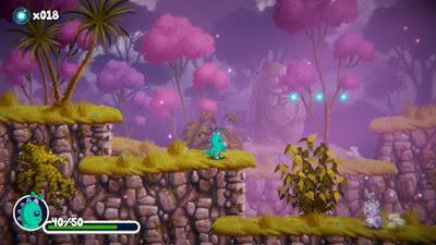 El plataformas 'Super Blast Off' evoca a los clásicos 2D en su campaña de crowdfunding