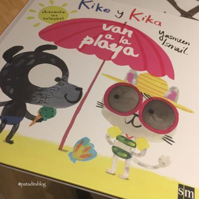 "#Lecturitas: ""Kike y Kika van a la Playa"""
