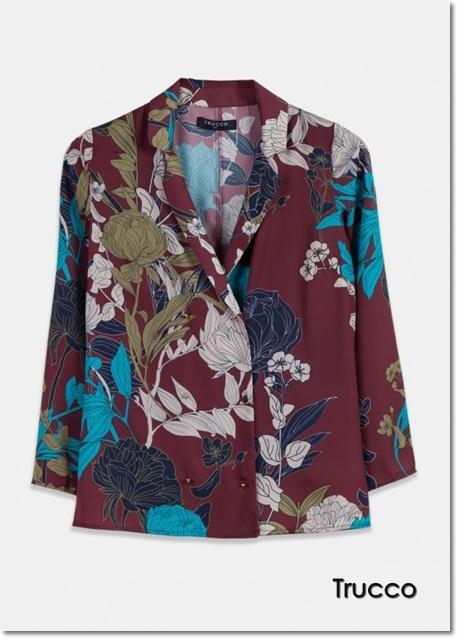 Tendencia top: Blazer floral