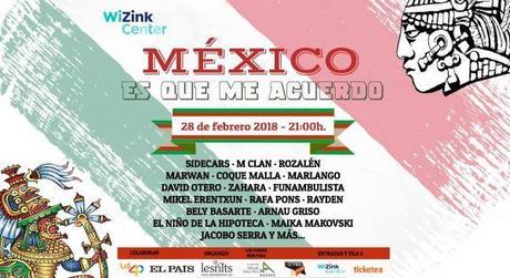 Concierto solidario por los terremotos de México con M Clan, Rozalén, Sidecars, Coque Malla, Zahara, Mikel Erentxun, Rayden...
