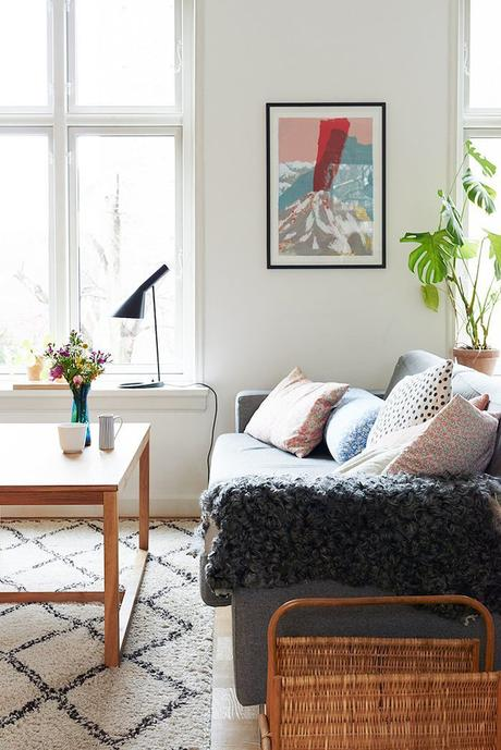 HOME TOUR: Vintage y Mint