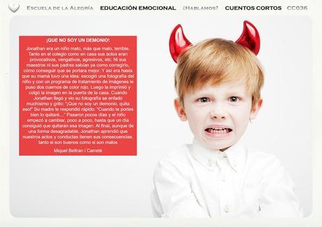 Educación Emocional en la escuela y en el hogar. Colección Cuentos Cortos 36
