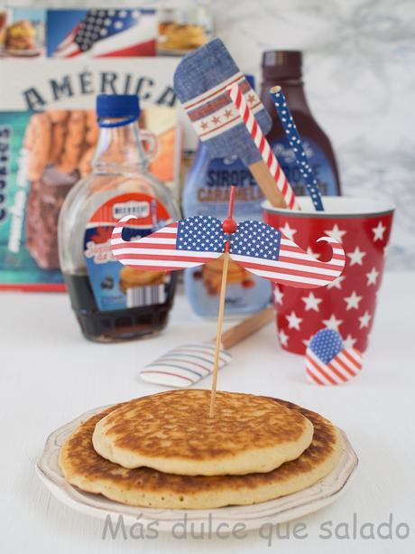 Pancakes.Tortitas americanas