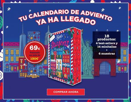 Fitness And Chicness-Calendario Adviento Kiehls-1