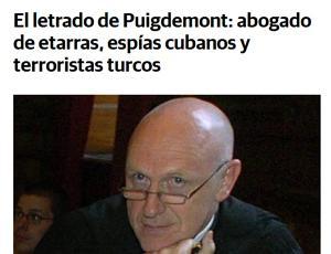 Puigdemont, ETA y Cuba: arroz con mango… a la española