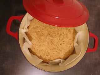 Pan de cazuela tradicional