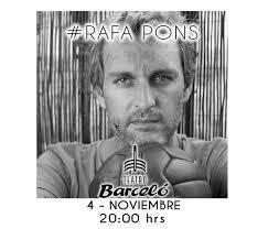 Concierto de Rafa Pons en Teatro Barceló
