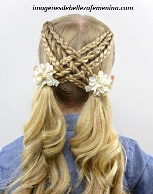Descarga Fotos Y Peinados Para Cabello Largo De Nina Faciles Paperblog