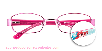 lentes opticos para niños disney sirenita