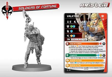 Figuras y cartas de Soldados de Fortuna, para Aristeia!
